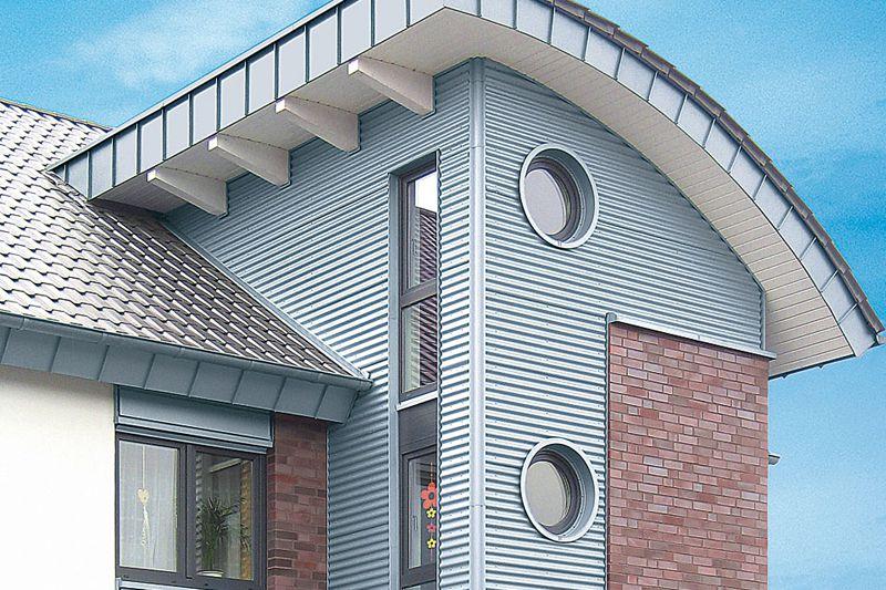 metall fassadenbekleidungen ihr dachdecker aus winterbach fischer bedachungen gmbh. Black Bedroom Furniture Sets. Home Design Ideas
